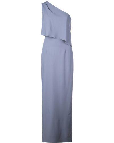 Приталенное платье со шлицей Amsale