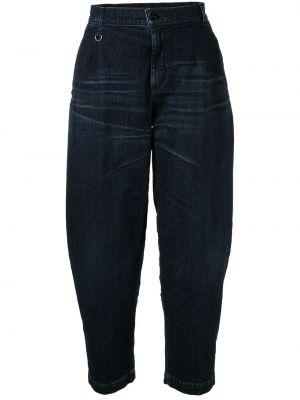 Зауженные джинсы-скинни из микрофибры Makavelic
