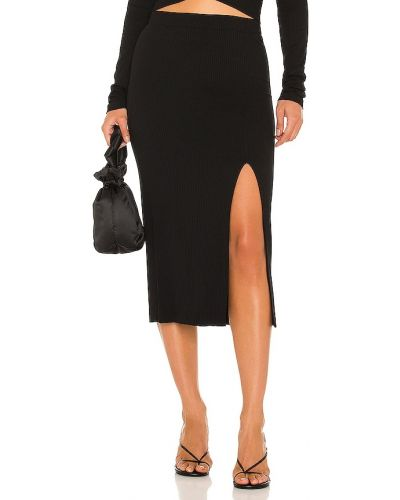 Черная юбка из спандекса Krisa