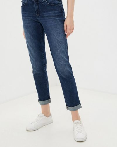 Синие джинсы бойфренды Mavi