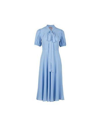 Платье - голубое No.21