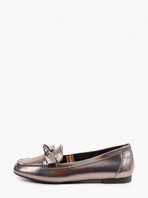 Серебряные лаковые туфли Dino Ricci