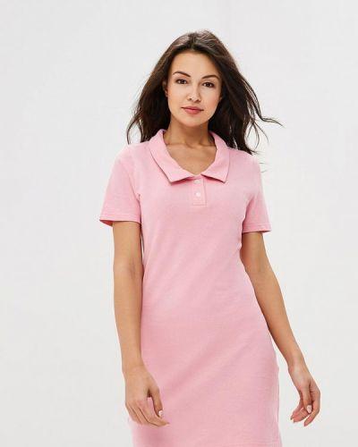 Платье розовое футболка Royal Elegance