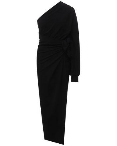 Платье из вискозы - черное Balenciaga