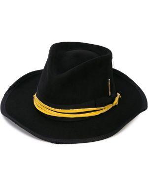 Желтая шапка из кролика Nick Fouquet