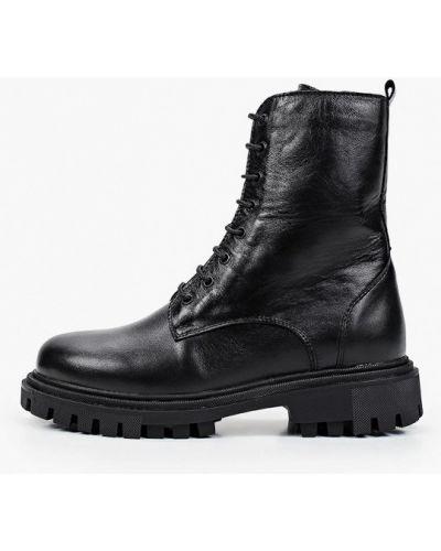 Черные демисезонные ботинки Shoiberg