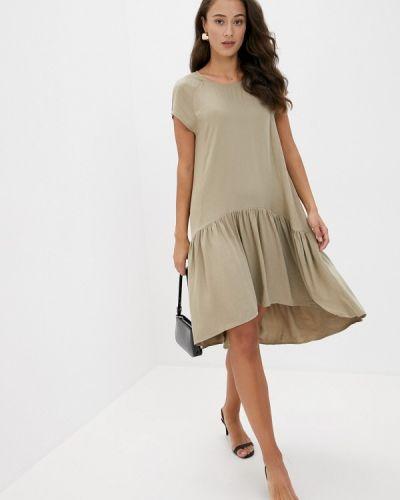 Прямое платье хаки Top Secret