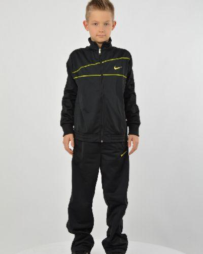 Спортивный костюм черный с карманами Nike