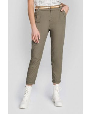 Зеленые брюки O'stin