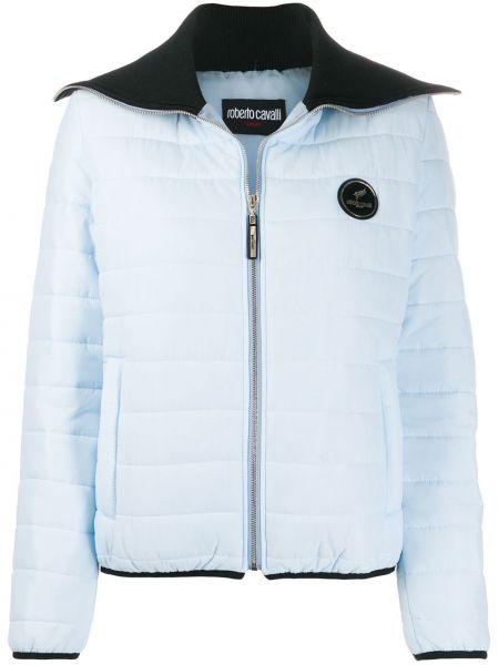 Синяя куртка Roberto Cavalli