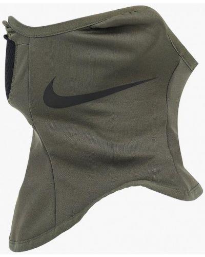 Шарф хаки зеленый Nike