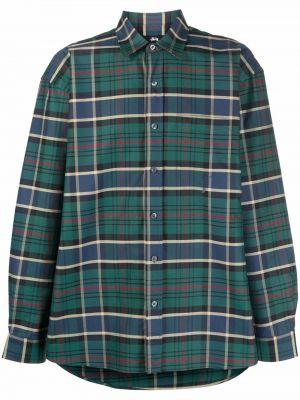Рубашка с длинным рукавом - зеленая Stussy