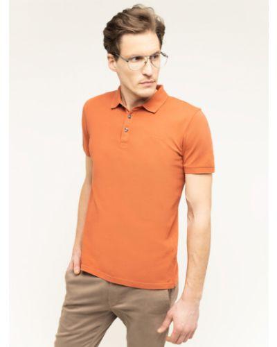 Pomarańczowa koszulka Baldessarini
