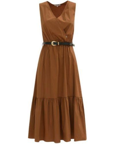 Brązowa sukienka Kocca