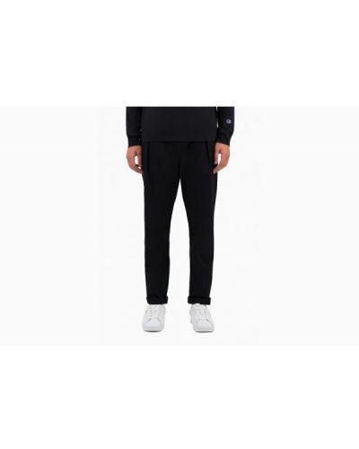 Spodnie dresowe bawełniane - czarne Champion