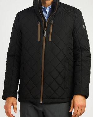 Утепленная куртка черная осенняя Finn Flare