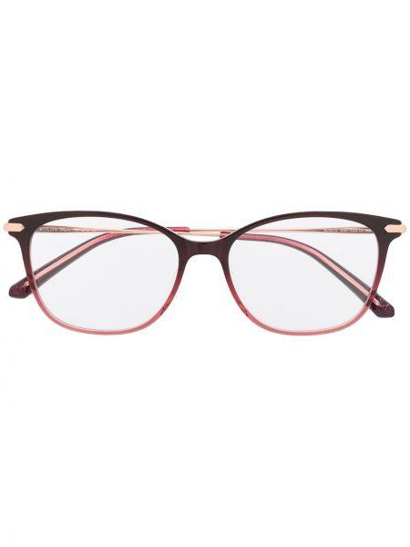 Розовые очки круглые металлические Bolon