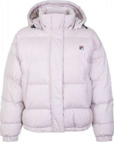Куртка с капюшоном утепленная спортивная Fila