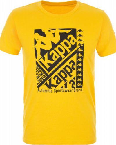 Спортивная футболка желтый Kappa