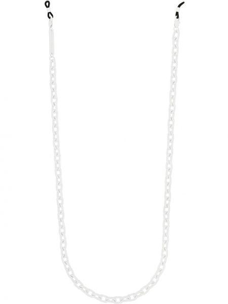 Białe okulary Frame Chain