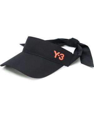 Daszek czarny z logo Y-3