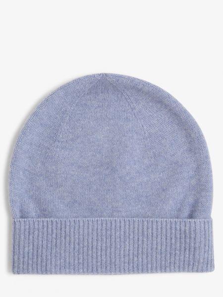 Niebieska z kaszmiru czapka Apriori