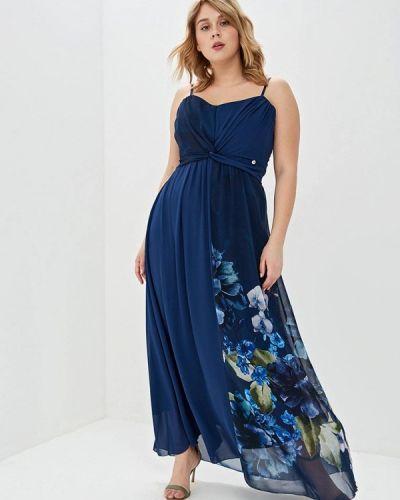 Вечернее платье - синее Kitana By Rinascimento