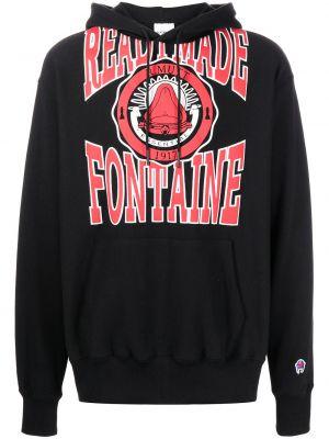 Czarny sweter z kapturem Readymade