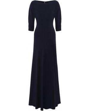 Платье макси синее Ralph Lauren