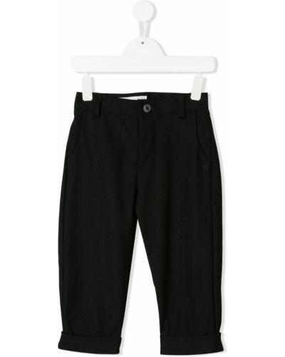 Черные брюки скинни Nostra Santissima Kids