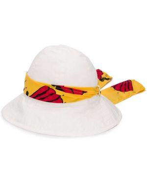 Шляпа белая Mini Rodini
