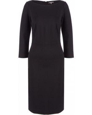 Платье черное с рукавами Tom Tailor