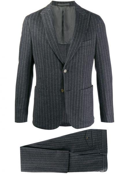 Klasyczny garnitur kostium wełniany Eleventy