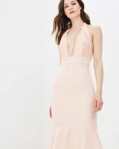 Платье весеннее розовое Mirasezar
