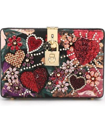 Кожаный сумка вечерняя Dolce & Gabbana