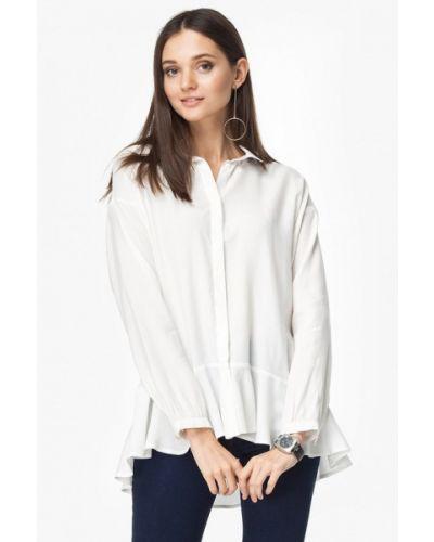 Белая блузка осенняя Vilatte