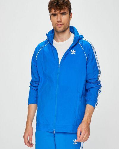 Куртка с капюшоном укороченная прямая Adidas Originals