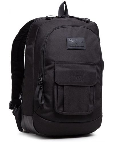 Plecak na laptopa - czarny Pepe Jeans