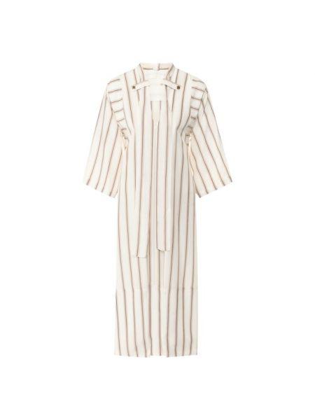 Вечернее платье шелковое с рукавами Chloé