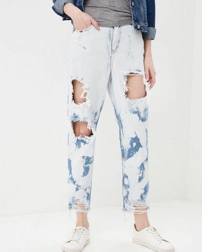 Голубые джинсы Glamorous