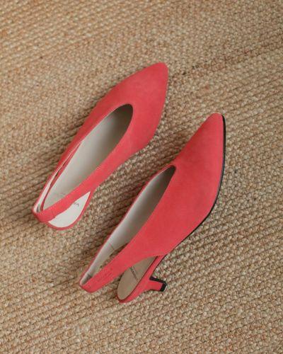 Кожаные с ремешком сандалии на каблуке Vagabond
