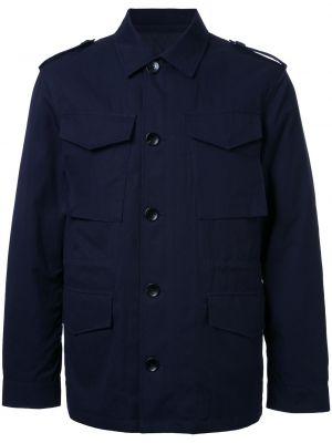 Niebieska kurtka bawełniana Kent & Curwen