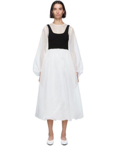 Sukienka z kołnierzem z długim rękawem Enfold