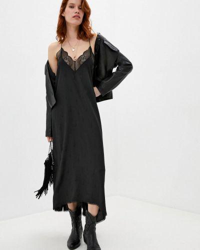 Платье - черное Zadig & Voltaire