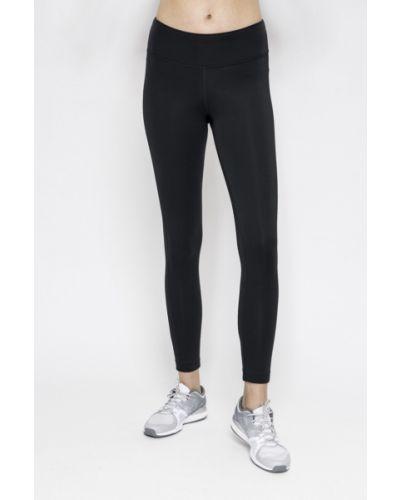 Черные зауженные брюки Reebok