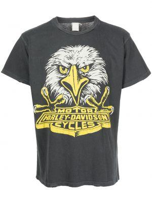 Czarna koszulka z printem Madeworn