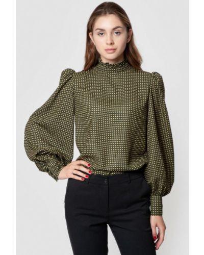 Черная блузка с длинными рукавами Arber