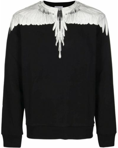 Czarny sweter Marcelo Burlon