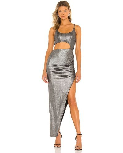 Sukienka srebrna Superdown
