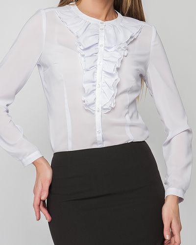 Блузка с жабо белая Lacywear